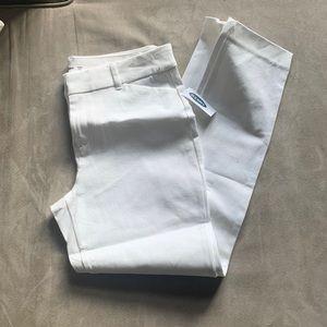 White Pixie Pants NWT